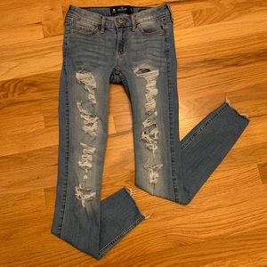 Hollister Jeans (Low Rise Super Skinny)